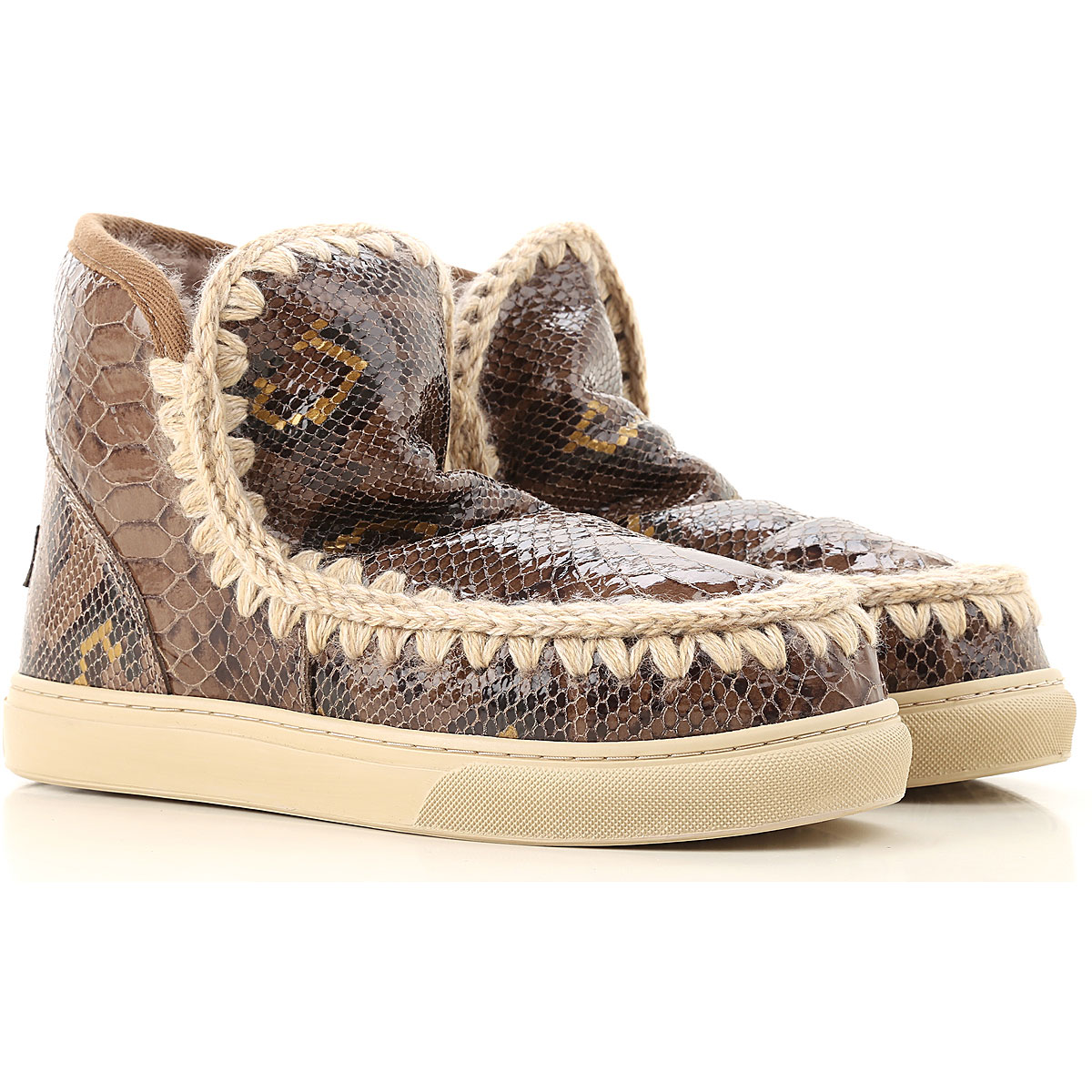 Mou Boots for Women, Booties On Sale, Elephant Grey, Leather, 2019, EUR 37 - UK 4 - USA 6.5 EUR 40 - UK 7 - USA 9.5
