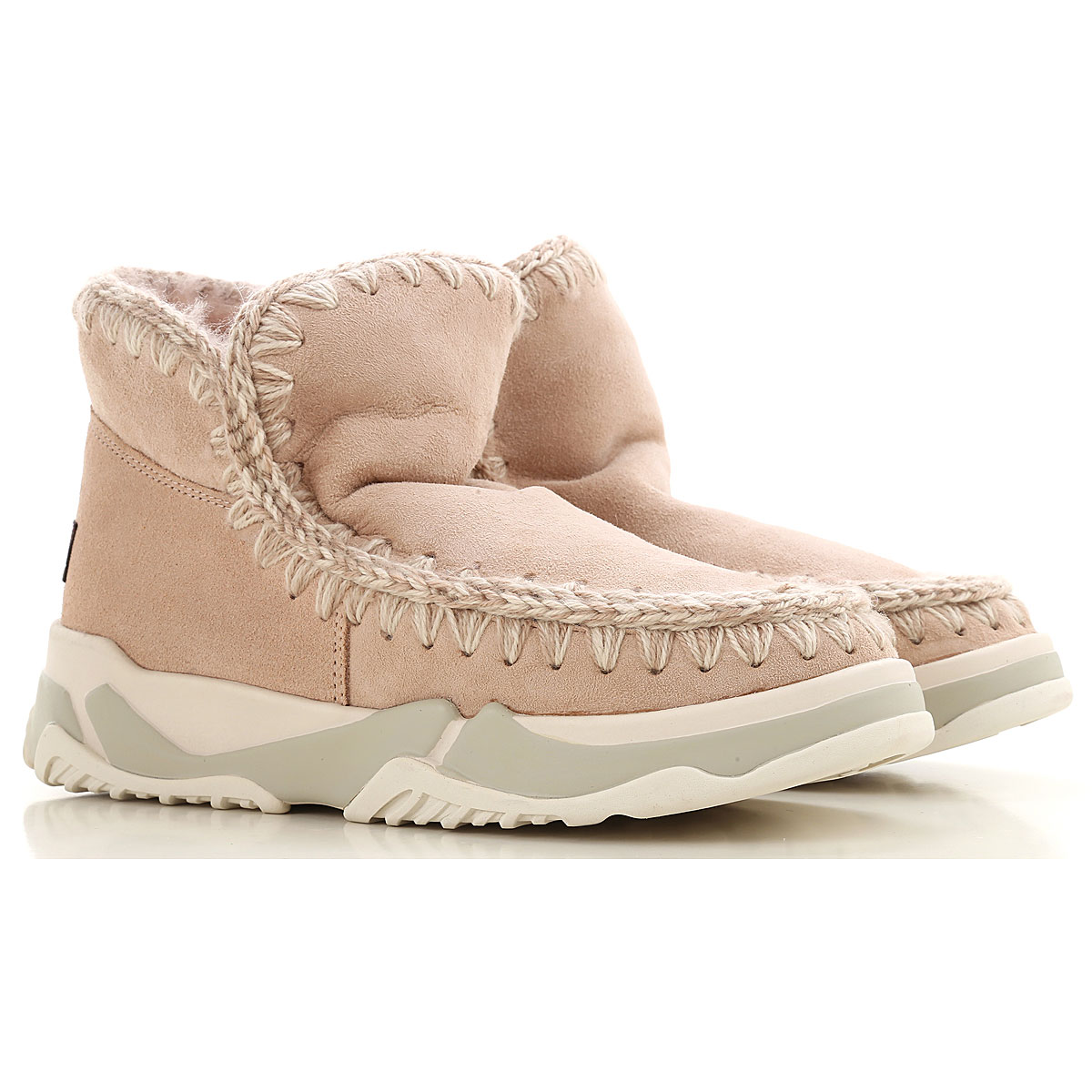 Mou Boots for Women, Booties On Sale, Rose, Suede leather, 2019, EUR 36 - UK 3 - USA 5.5 EUR 37 - UK 4 - USA 6.5 EUR 38 - UK 5 - USA 7.5 EUR 39 - UK 6
