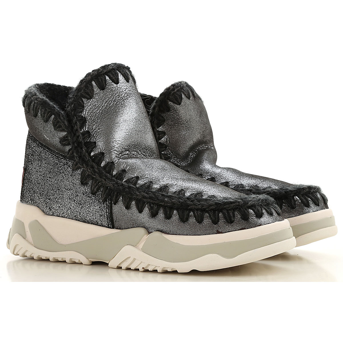 Mou Boots for Women, Booties On Sale in Outlet, Black, Suede leather, 2019, EUR 36 - UK 3 - USA 5.5