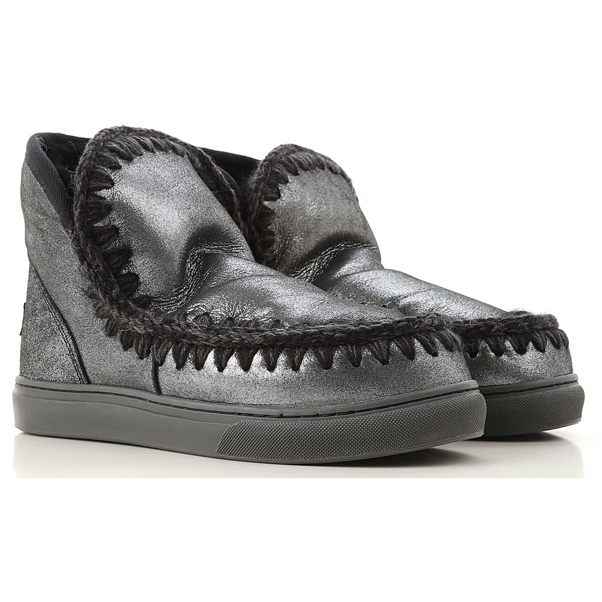 Mou Boots for Women, Booties On Sale, Black, suede, 2019, EUR 36 - UK 3 - USA 5.5 EUR 40 - UK 7 - USA 9.5