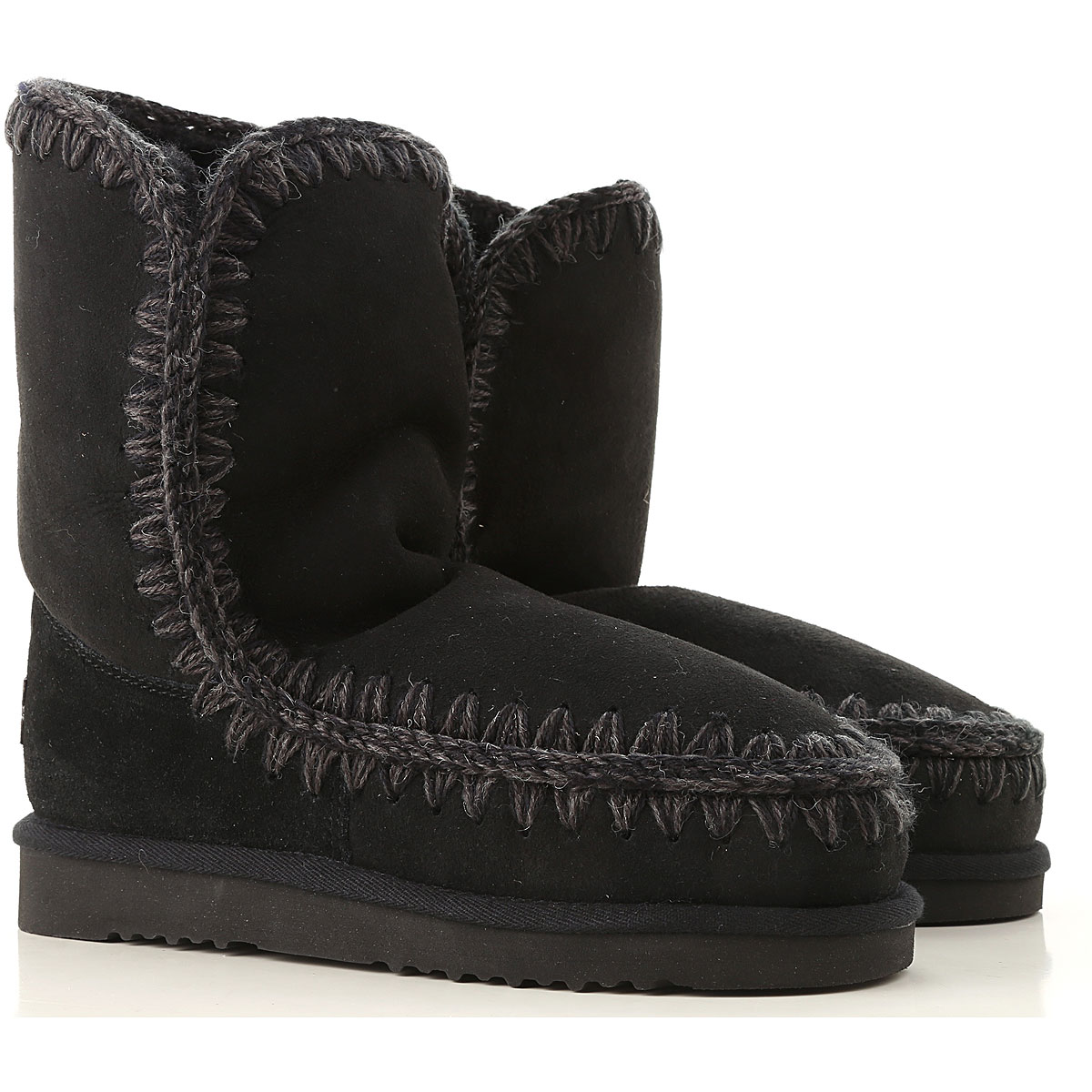 Mou Boots for Women, Booties On Sale in Outlet, Black, Suede leather, 2019, EUR 38 - UK 5 - USA 7 EUR 36 - UK 3 - USA 5.5 EUR 37 - UK 4 - USA 6.5 EUR