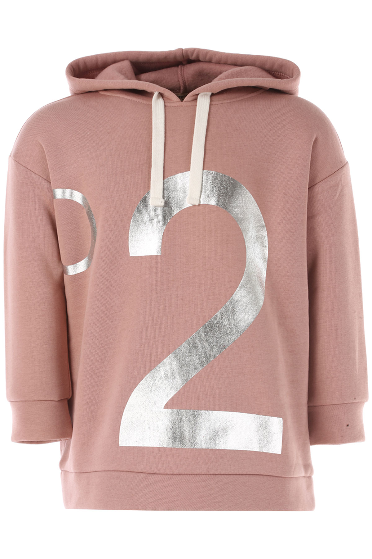 NO 21 Kids Sweatshirts & Hoodies for Girls On Sale in Outlet, Pink, Cotton, 2019, 26 (4 Years) 30 (6 Years)