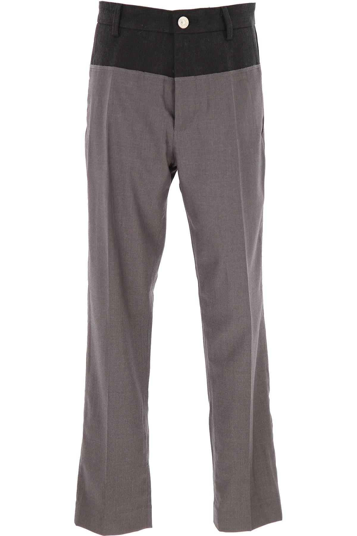 NO 21 Kids Pants for Boys On Sale, Grey, polyester, 2019, 10Y 12Y 14Y 8Y