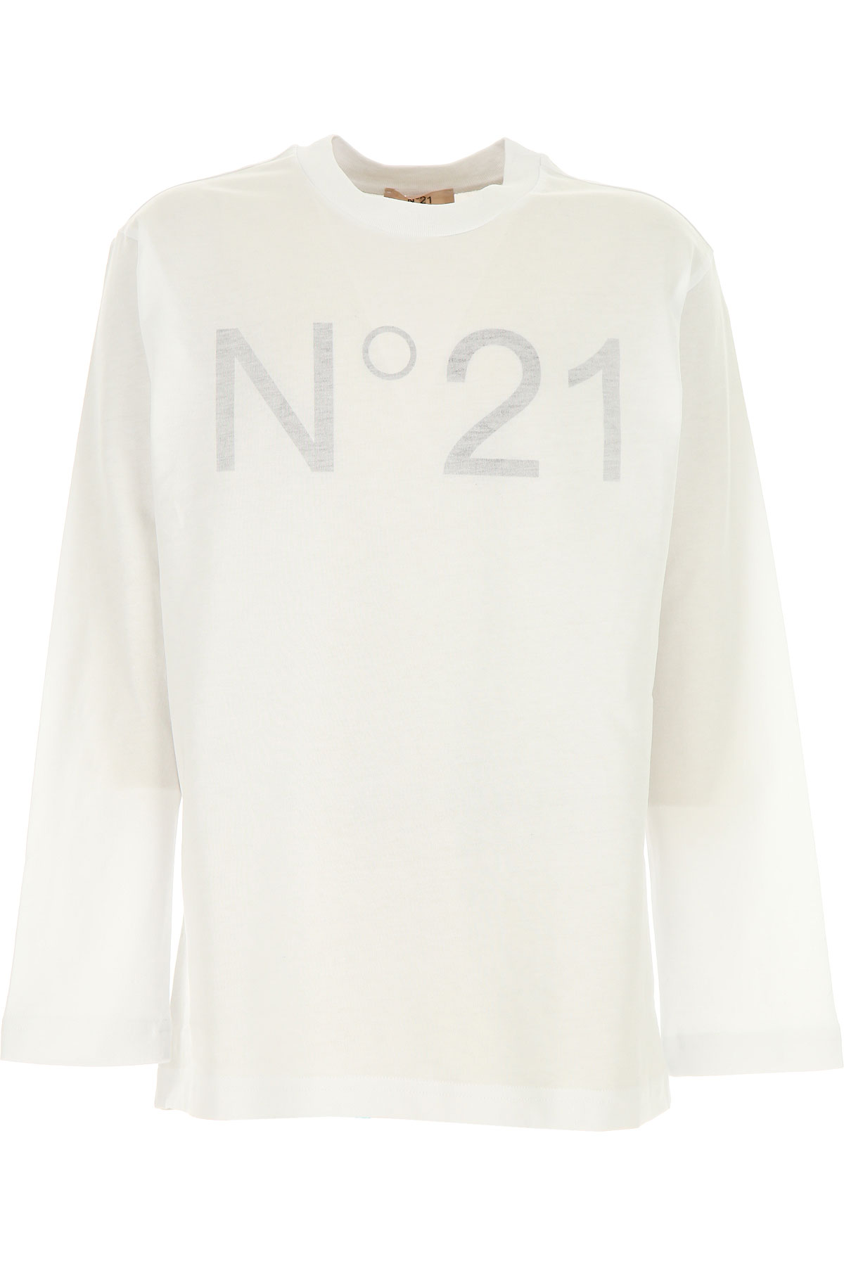 NO 21 Kids T-Shirt for Boys On Sale, White, Cotton, 2019, 10Y 12Y 8Y
