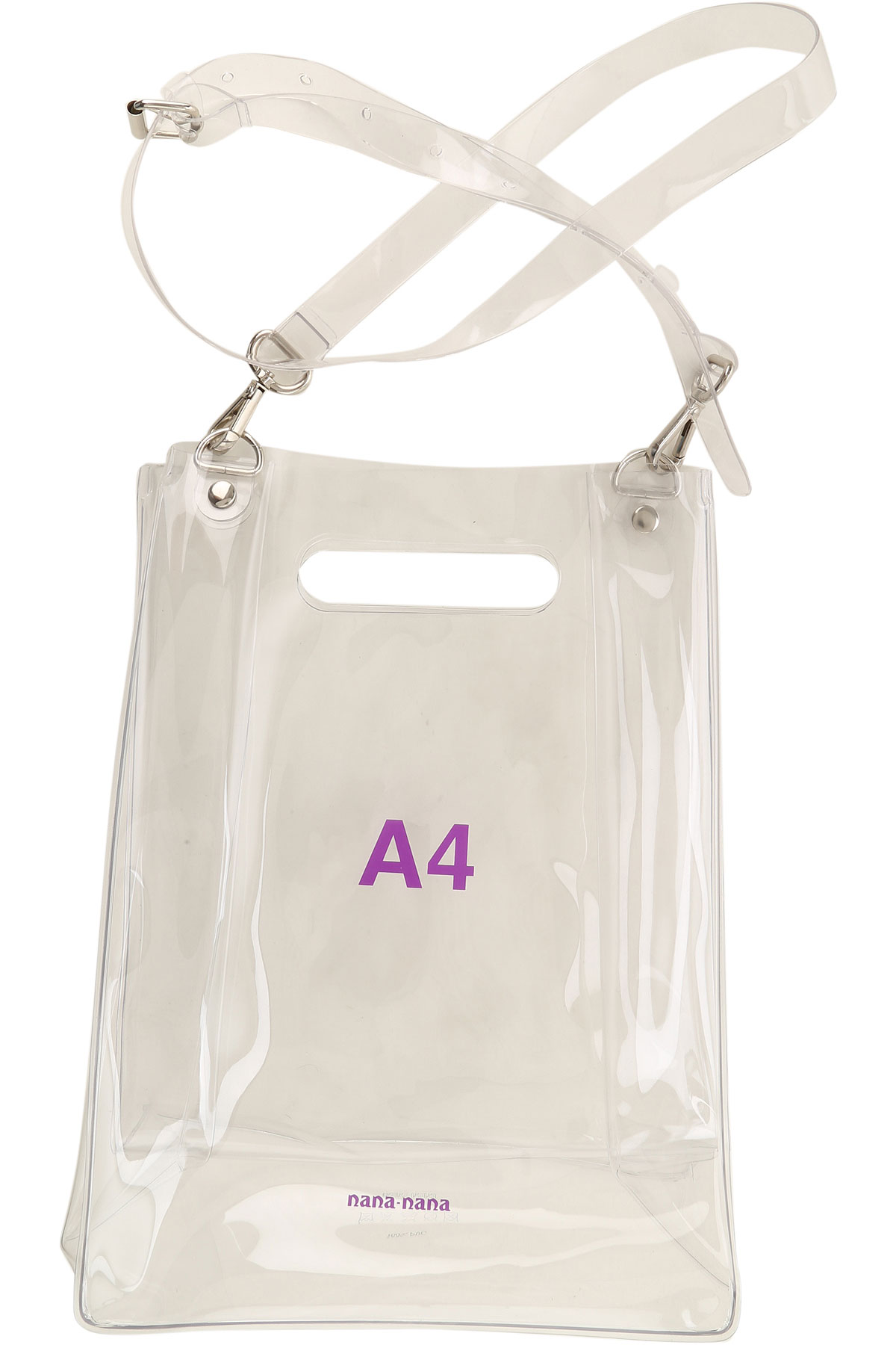 NANA NANA Shoulder Bag for Women On Sale, Transparent, PVC, 2019