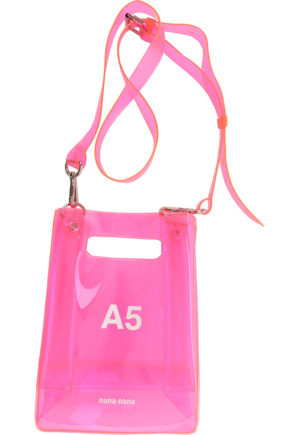 NANA NANA Shoulder Bag for Women On Sale, Neon Fuxia, PVC, 2019