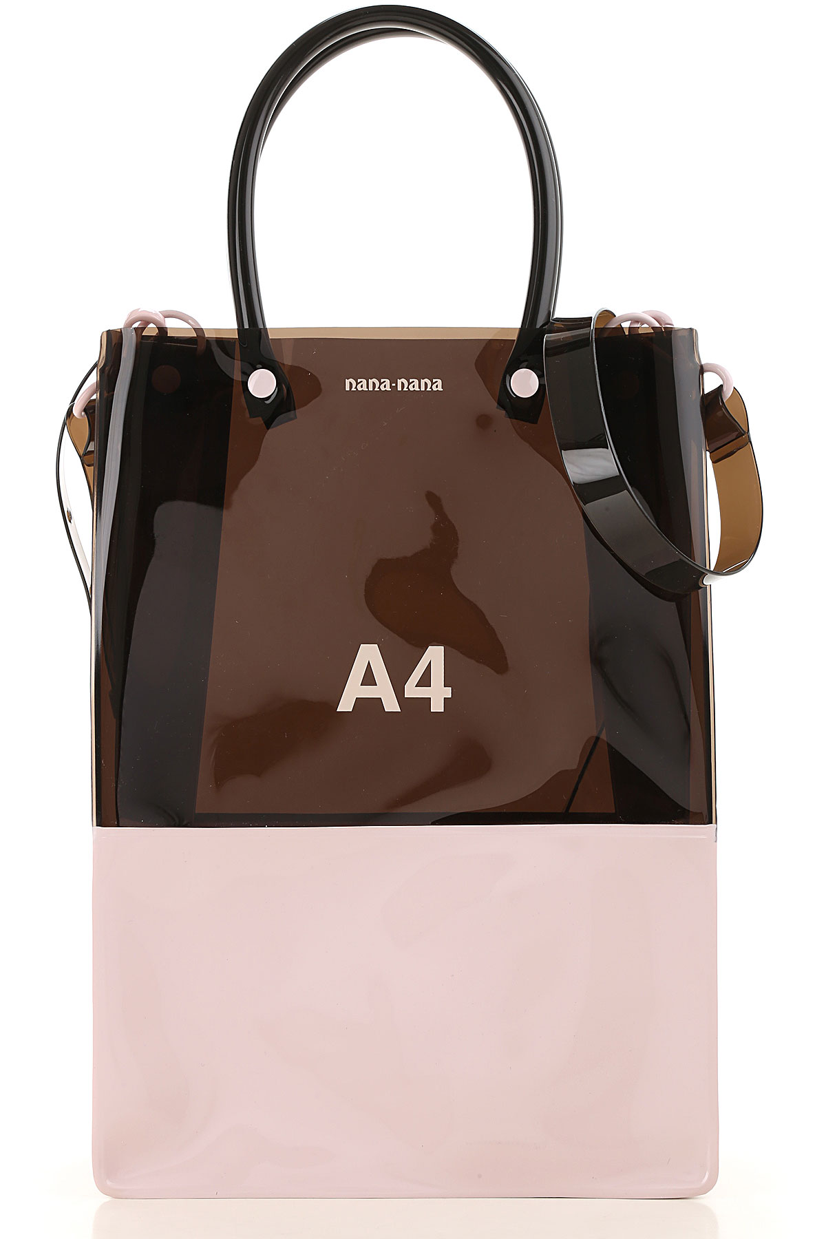 NANA NANA Top Handle Handbag On Sale, Black, PVC, 2019