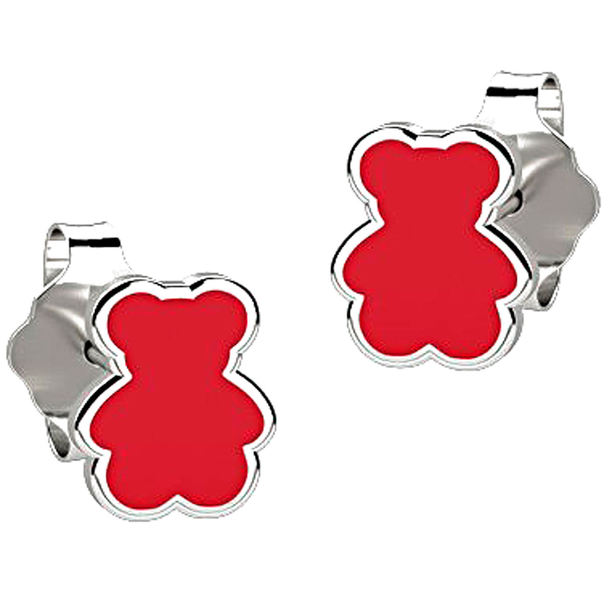 Nanan Earrings for Women On Sale, Red, Silver 925, 2019