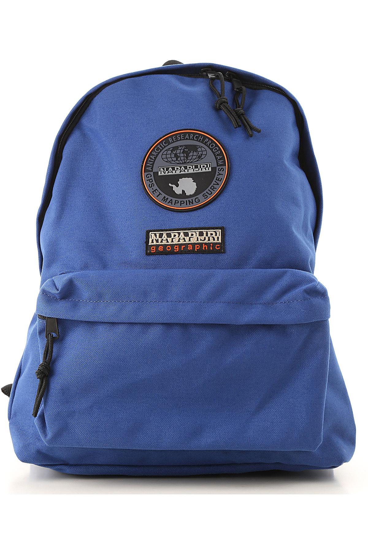 Image of Napapijri Backpack for Women, Bright Royal Blue, Fabric, 2017