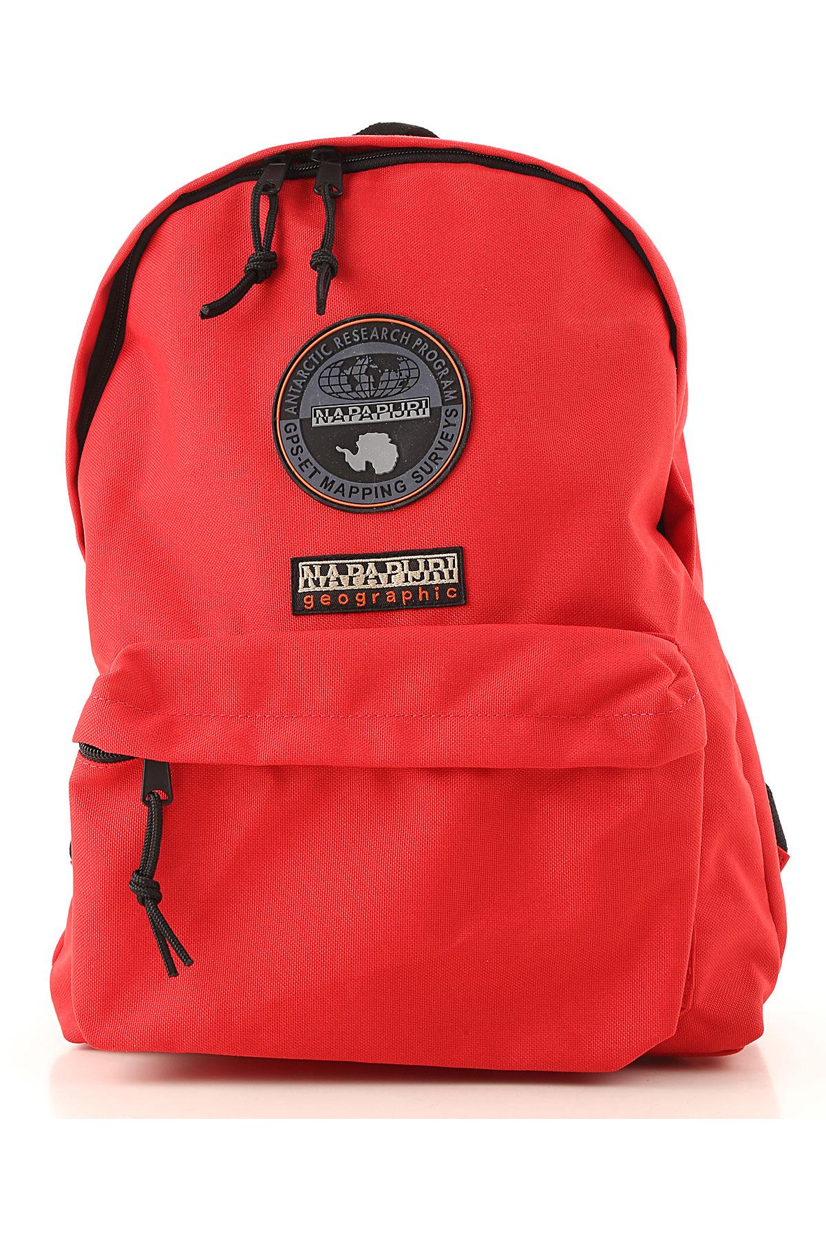 Image of Napapijri Backpack for Women, Red, Fabric, 2017