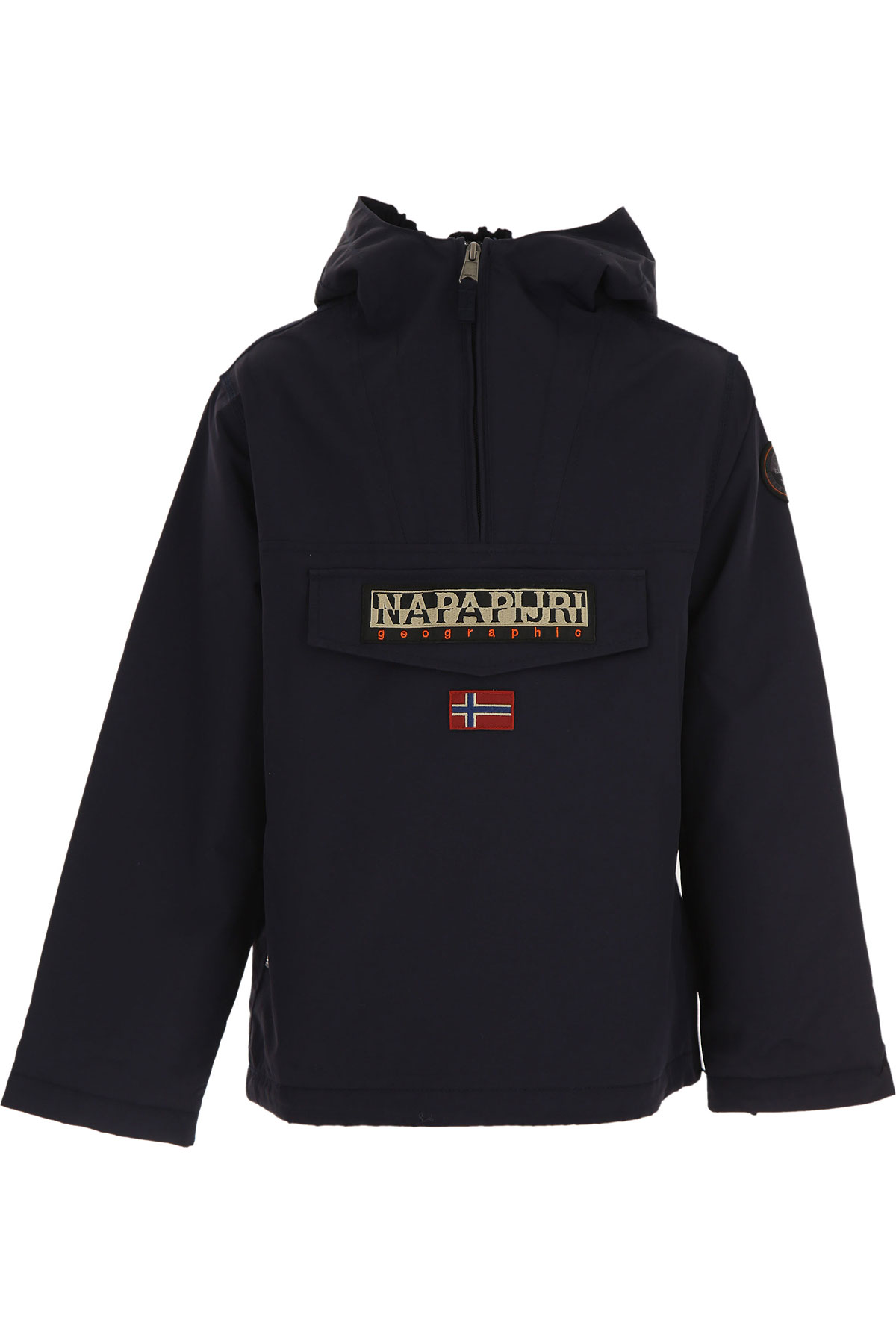Napapijri Boys Down Jacket for Kids, Puffer Ski Jacket On Sale, Blue, polyester, 2019, 10Y 16Y 6Y 8Y