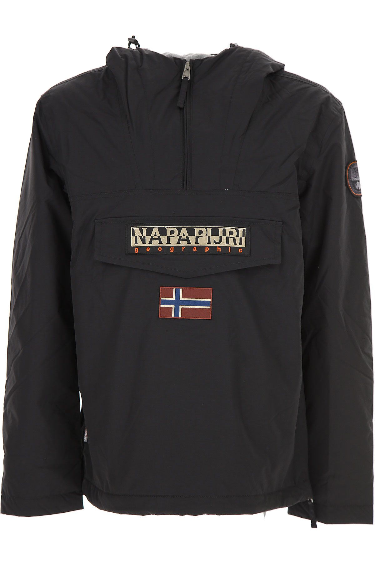 Image of Napapijri Down Jacket for Men, Puffer Ski Jacket, Black, poliestere, 2017, L M S XL XS