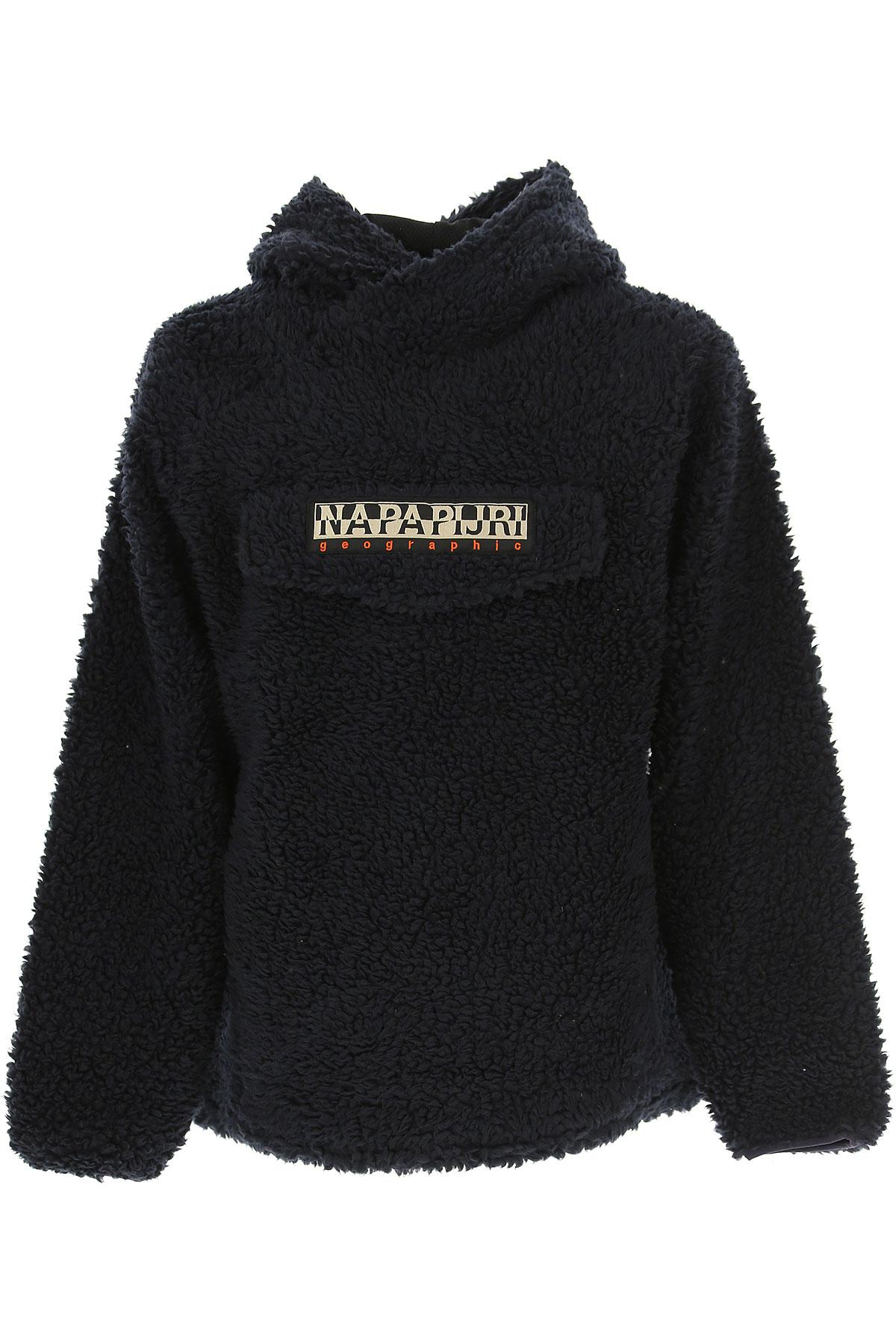 Napapijri Jacket for Men, Dark Blu, polyester, 2017, L M S XL