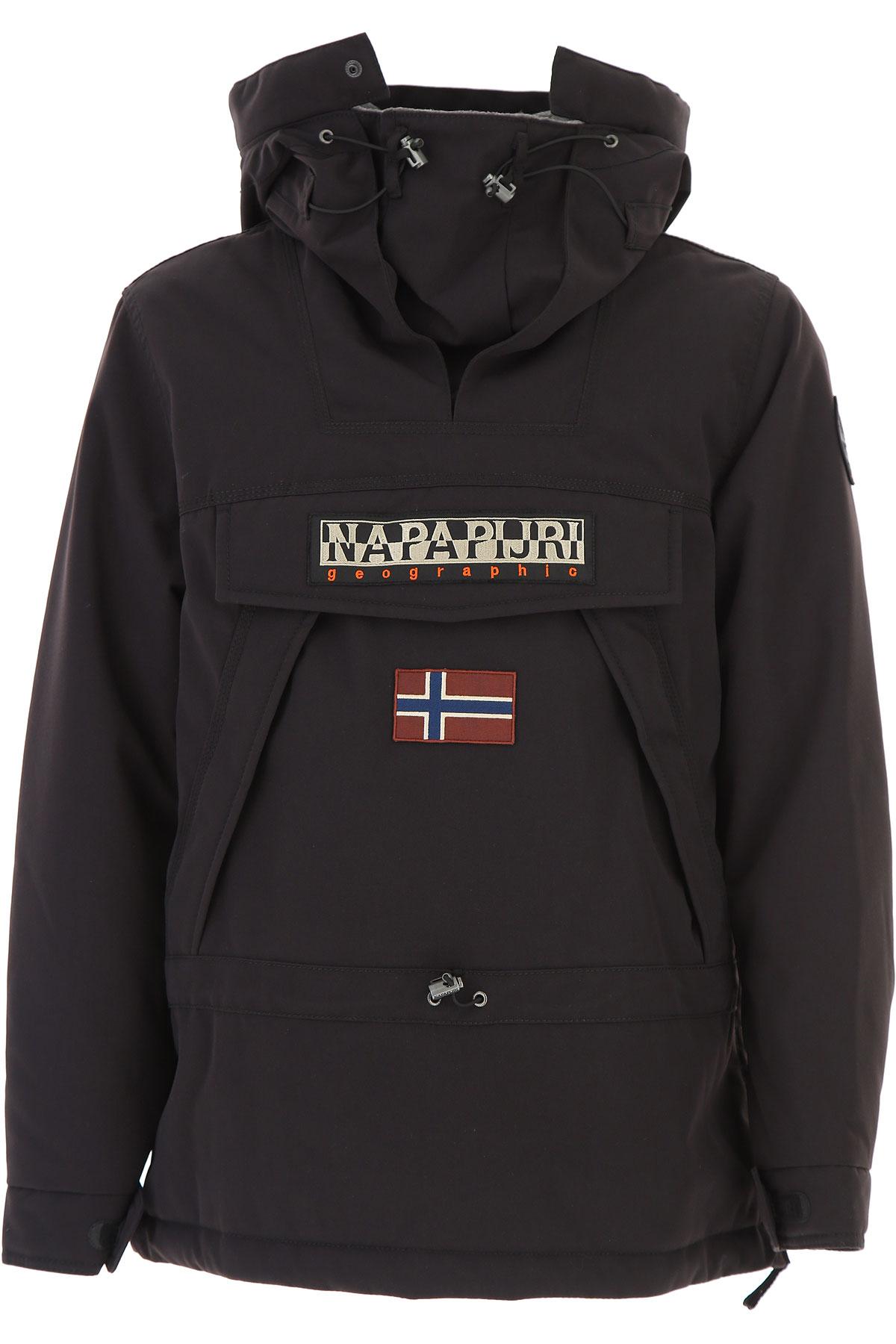 Napapijri Jacket for Men On Sale, Black, polyamide, 2019, L M XL