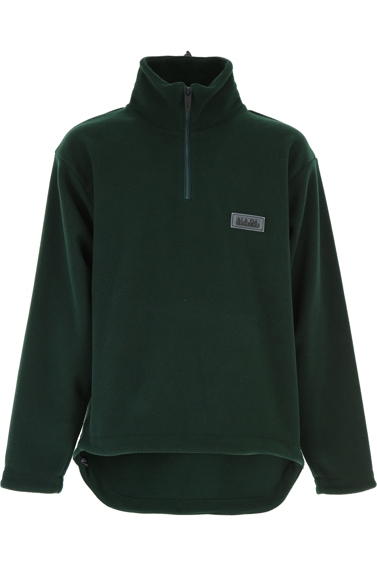 Image of Napapijri Sweater for Men Jumper, Dark Green, Wool, 2017, L M S XL