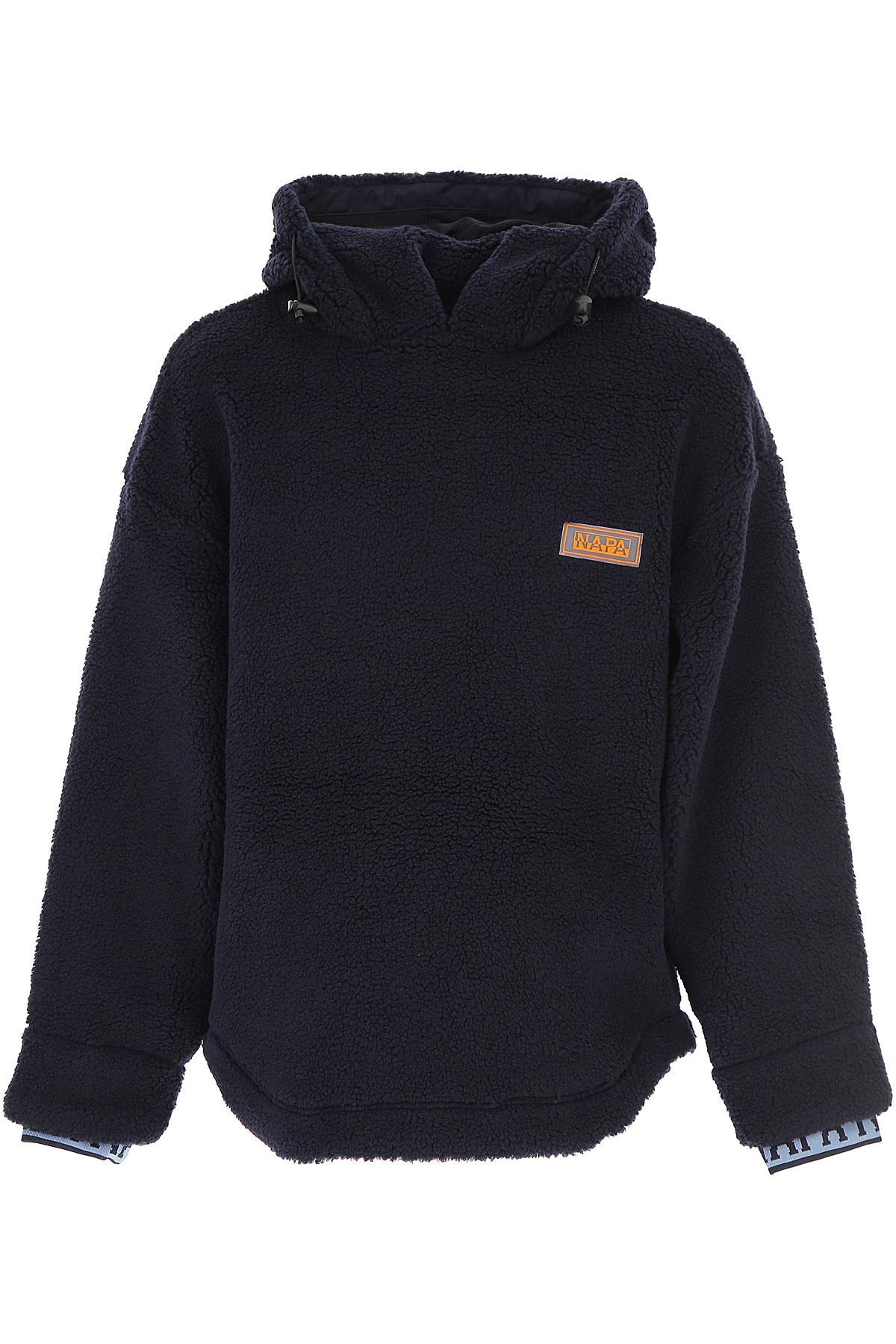 Image of Napapijri Sweater for Men Jumper, Dark Blue, Wool, 2017, L M S XL