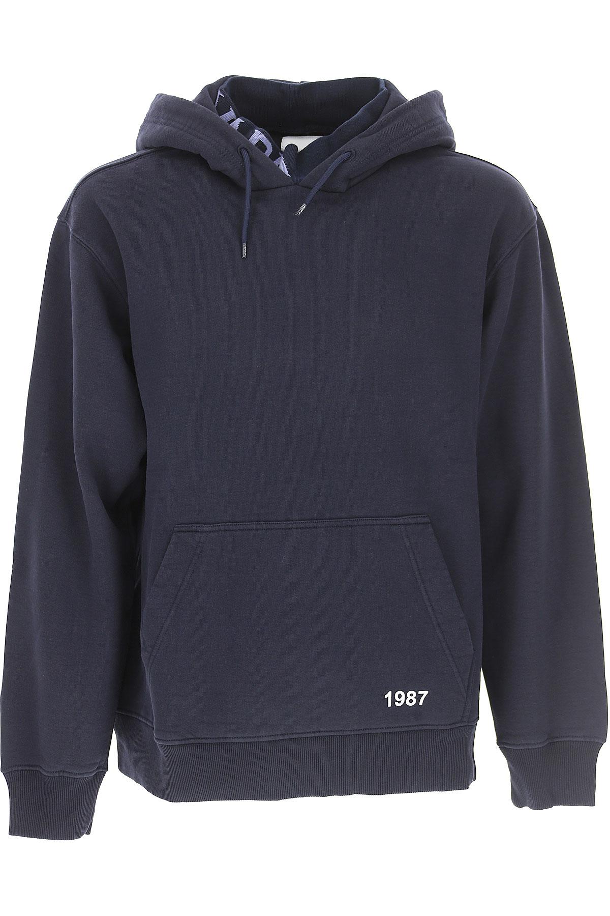 Image of Napapijri Sweatshirt for Men, Dark Blue, Cotton, 2017, L M S XL