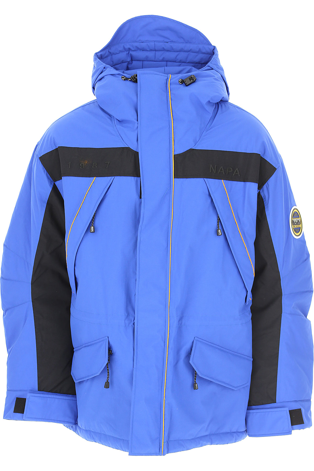 Napapijri Down Jacket for Men, Puffer Ski Jacket On Sale, Princess Blue, polyamide, 2019, L M S