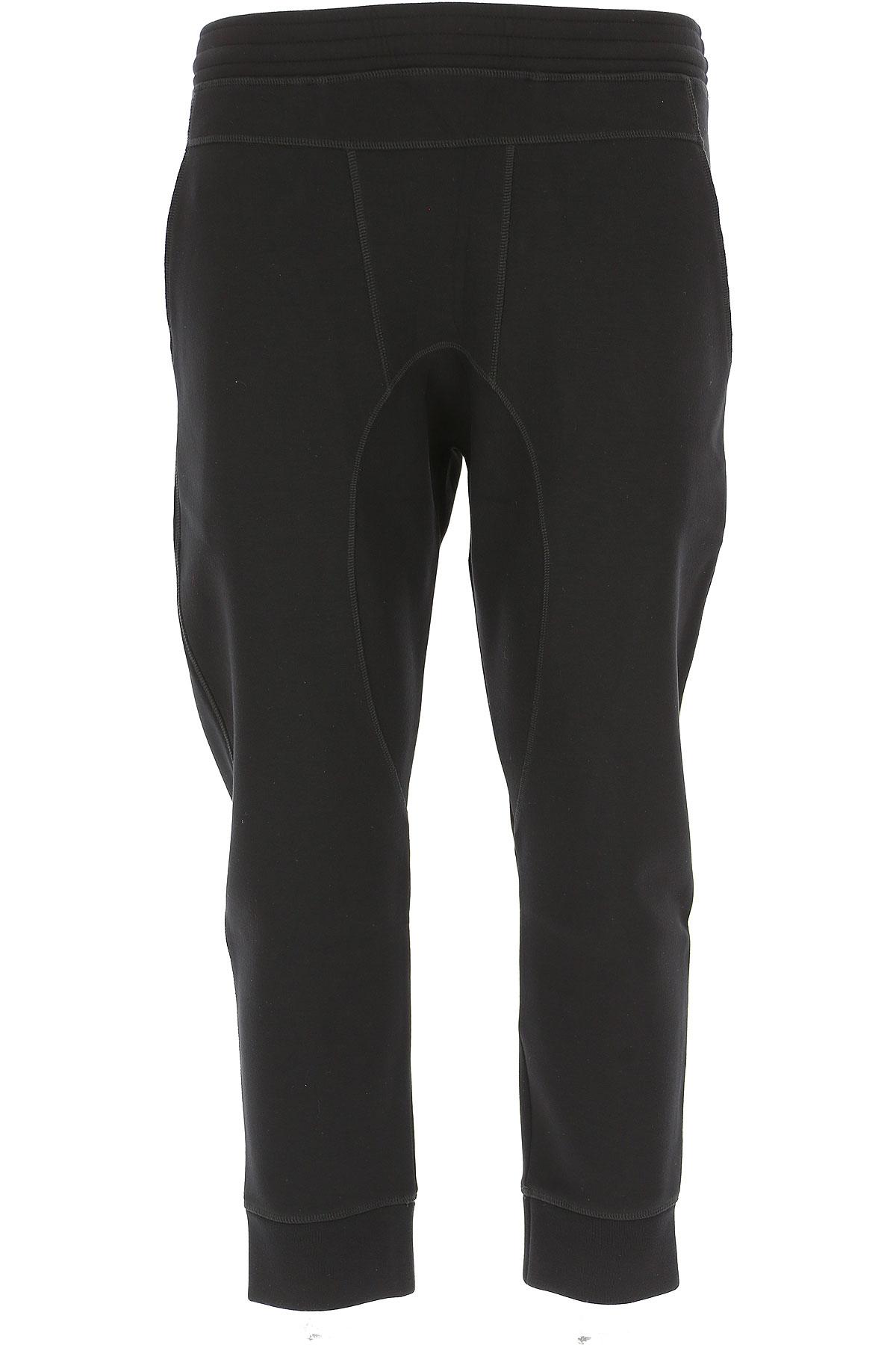 Neil Barrett Pants for Men On Sale in Outlet, Black, viscosa, 2019, L M