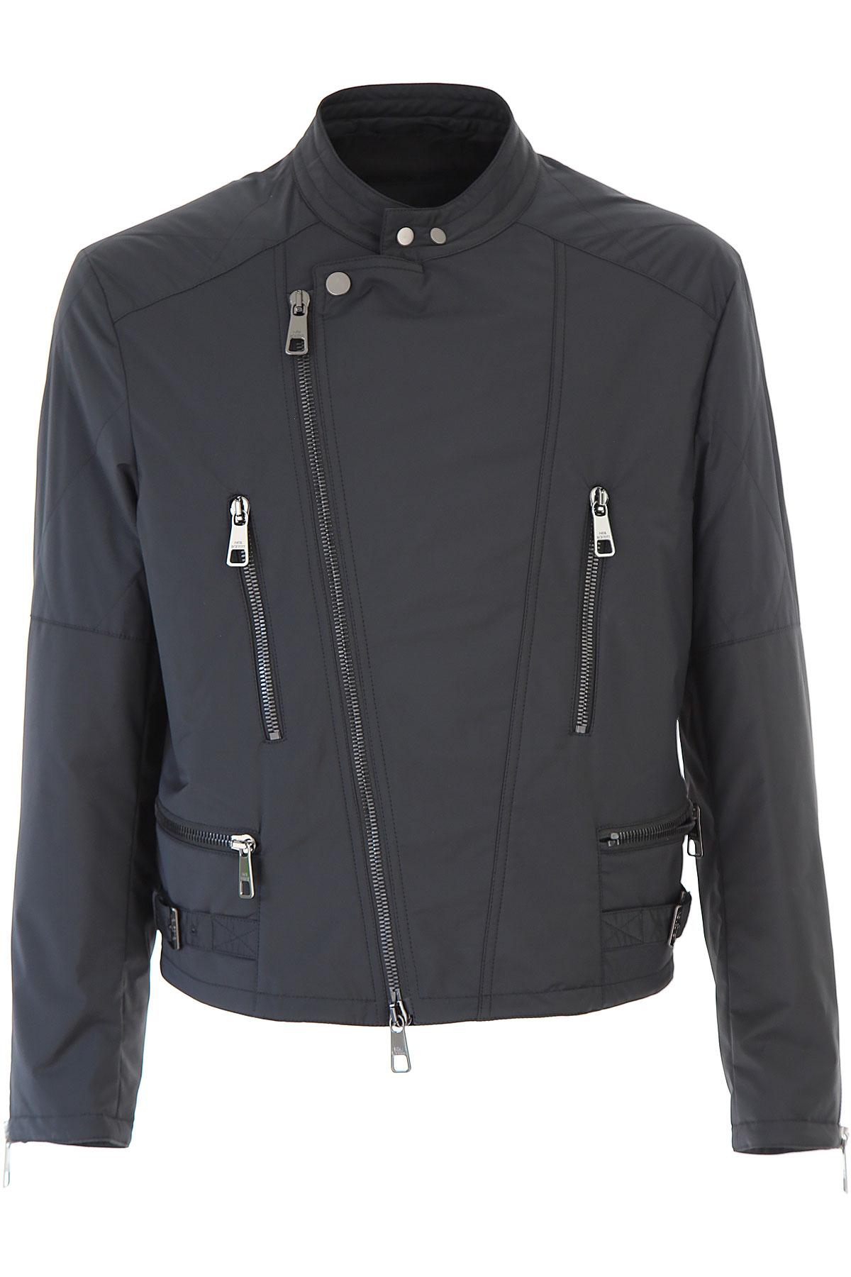 Neil Barrett Jacket for Men, Black, polyester, 2019, L M