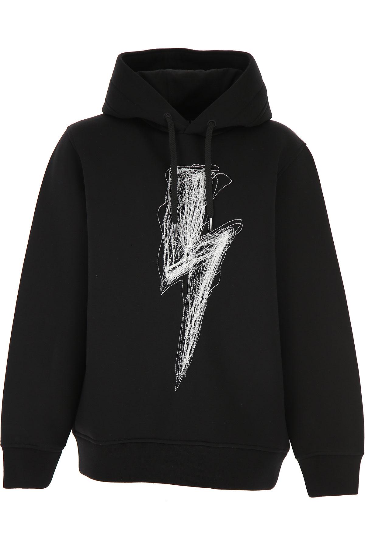 Neil Barrett Kids Sweatshirts & Hoodies for Boys On Sale, Black, viscosa, 2019, 10Y 12Y 14Y 8Y