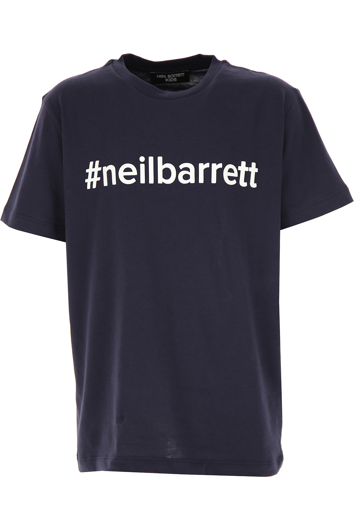 Neil Barrett Kids T-Shirt for Boys On Sale, Blue, Cotton, 2019, 10Y 12Y 14Y 8Y