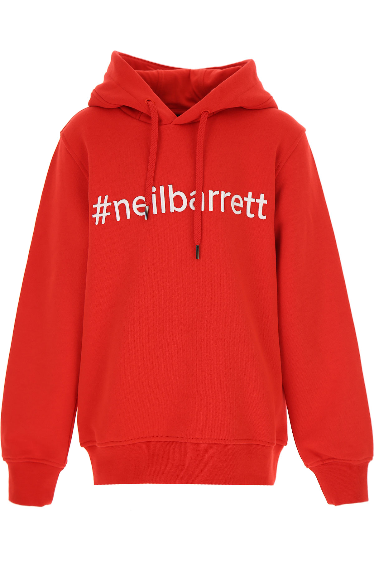 Neil Barrett Kids Sweatshirts & Hoodies for Boys On Sale, Red, Cotton, 2019, 10Y 12Y 8Y