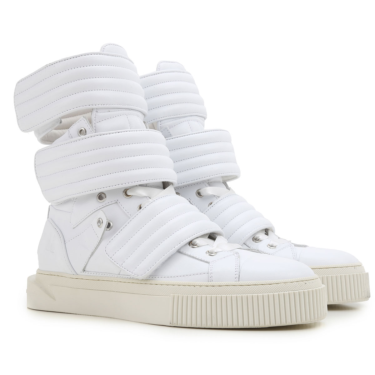 Image of Nicopanda Sneakers for Men On Sale, White, Leather, 2017, 11.5 7.5 8 9