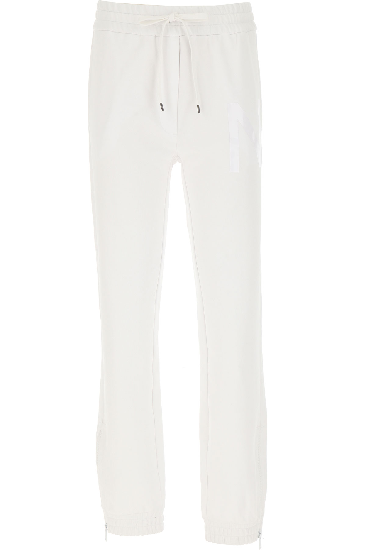 NO 21 Pants for Women On Sale, White, Cotton, 2019, 26 28