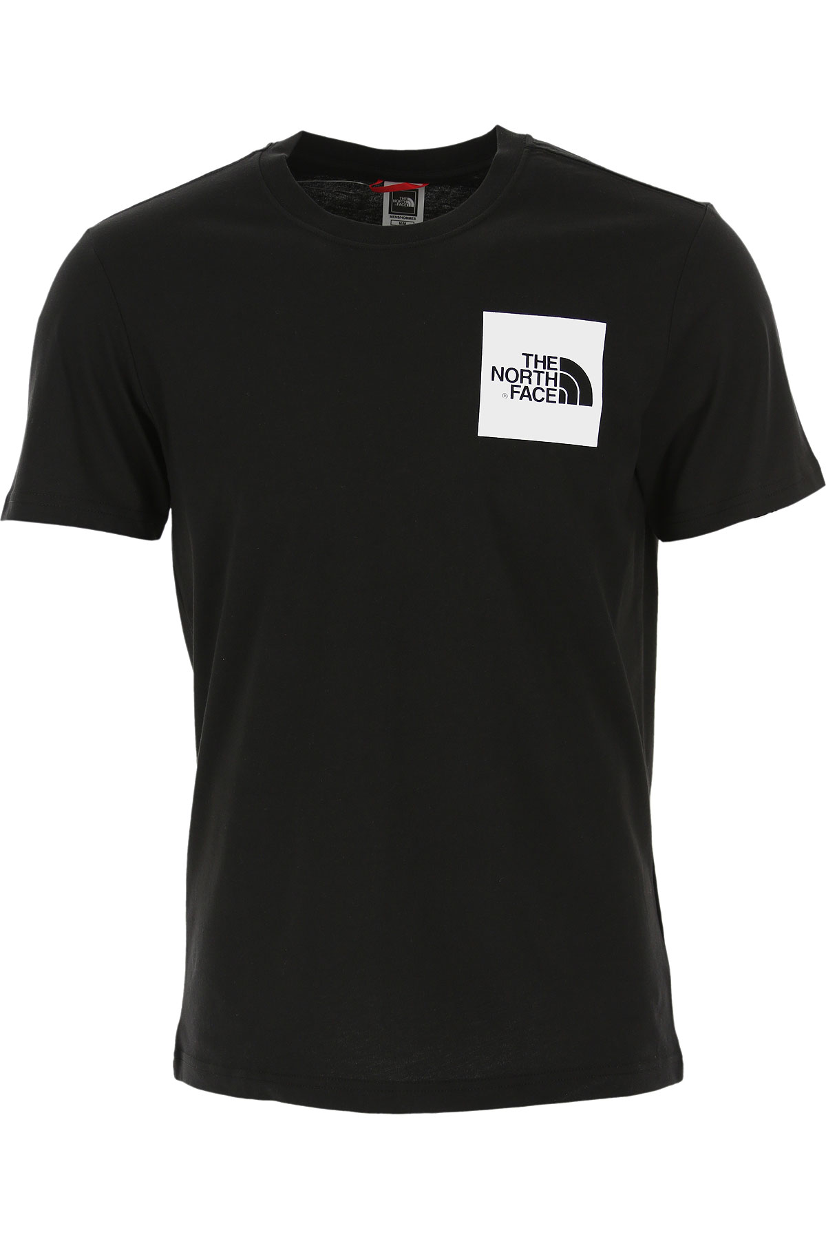 The North Face T-Shirt for Men On Sale, Black, Cotton, 2019, M XS