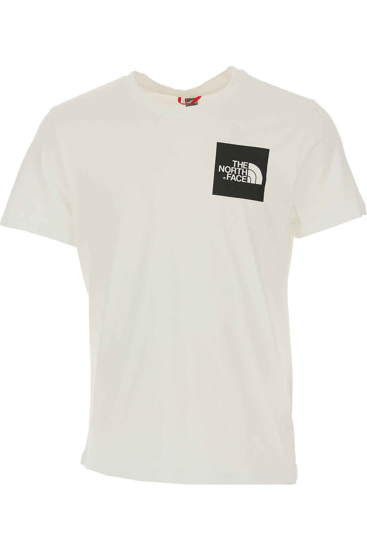 The North Face T-Shirt for Men On Sale, White, Cotton, 2019, L S