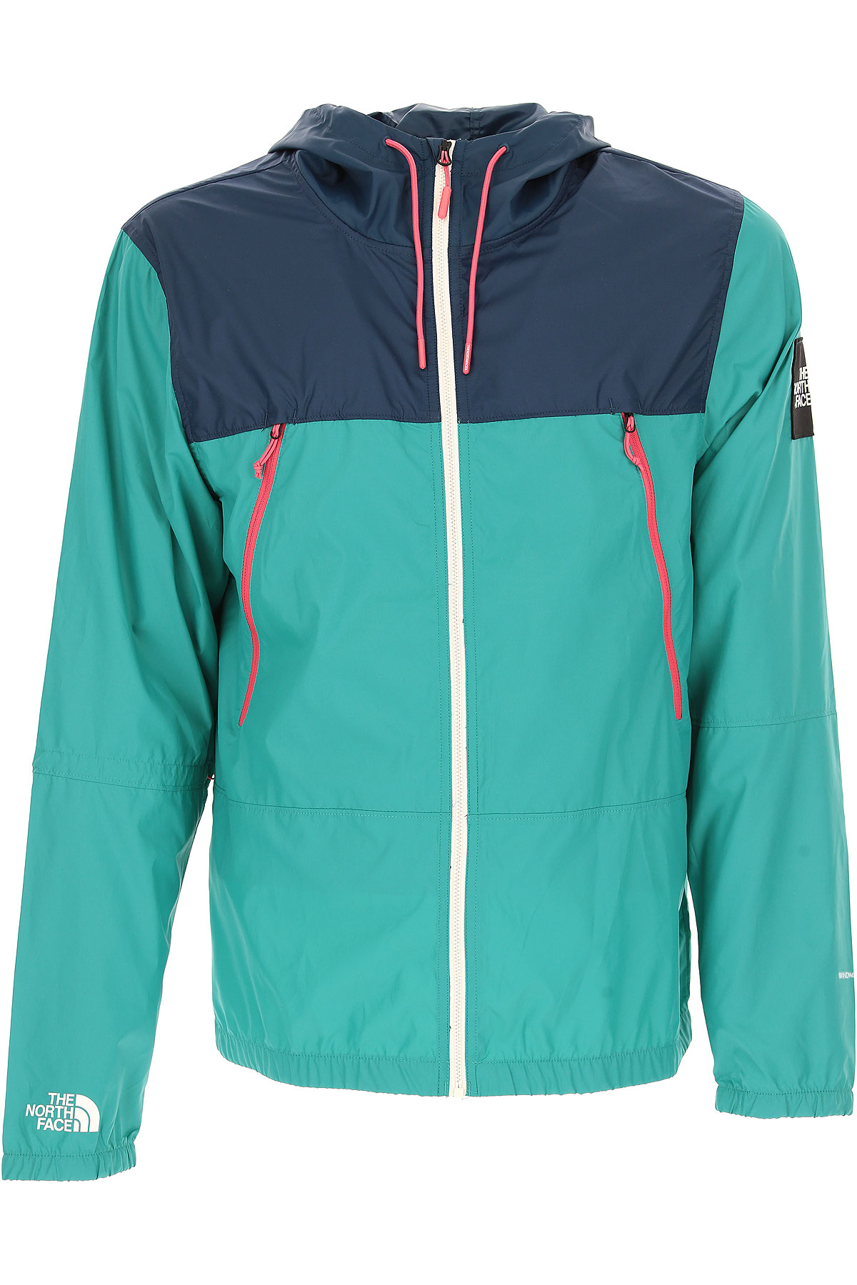 Image of The North Face Jacket for Men On Sale, Green, polyester, 2017, L M S
