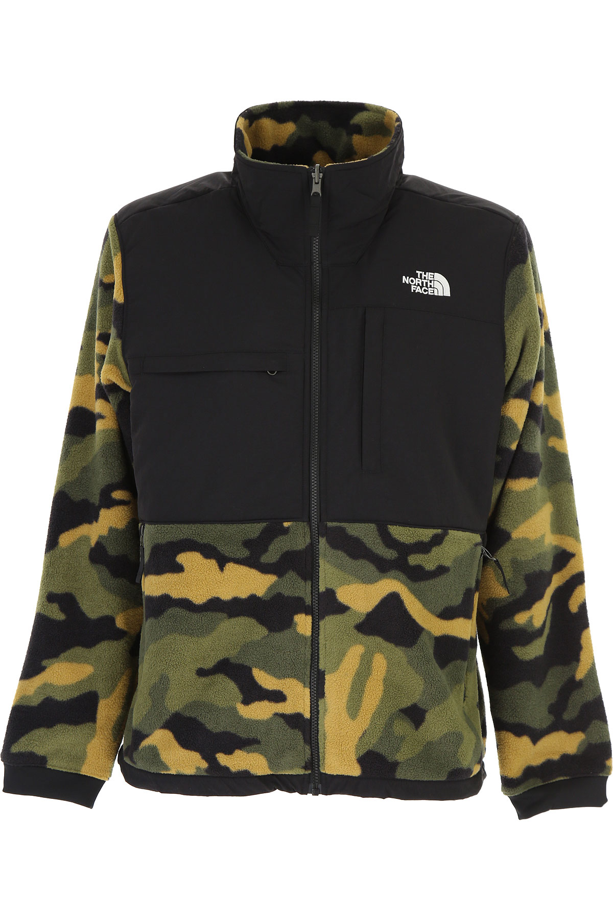 The North Face Sweatshirt for Men On Sale, Military Green, polyestere, 2019, L M S