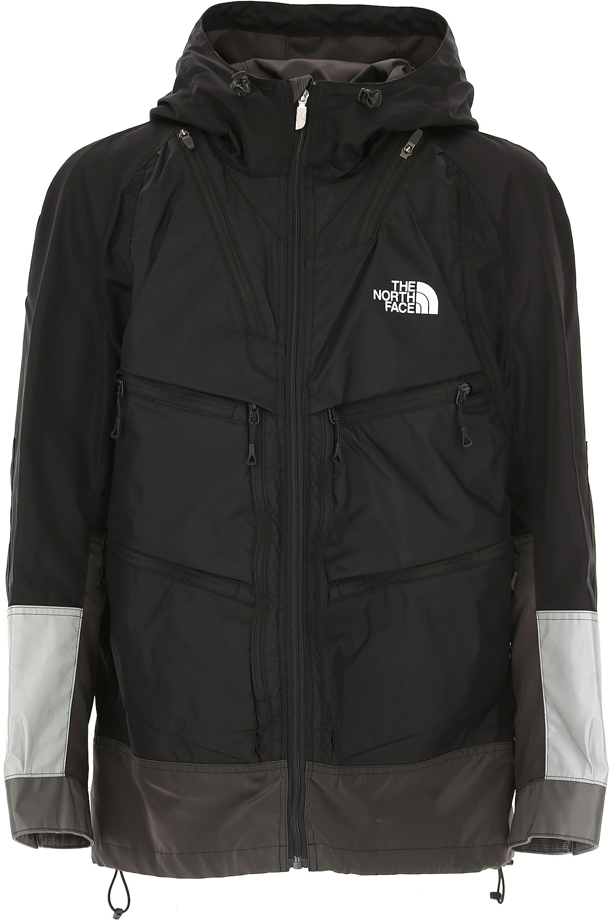 Image of The North Face Down Jacket for Men, Puffer Ski Jacket, Black, Nylon, 2017, L M S