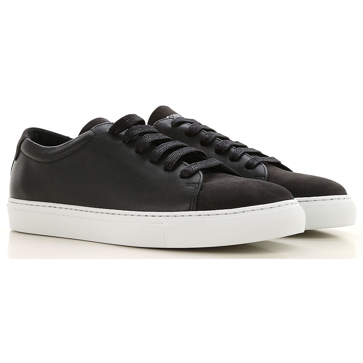 National Standard Sneakers for Men On Sale, Black, Leather, 2019, 8