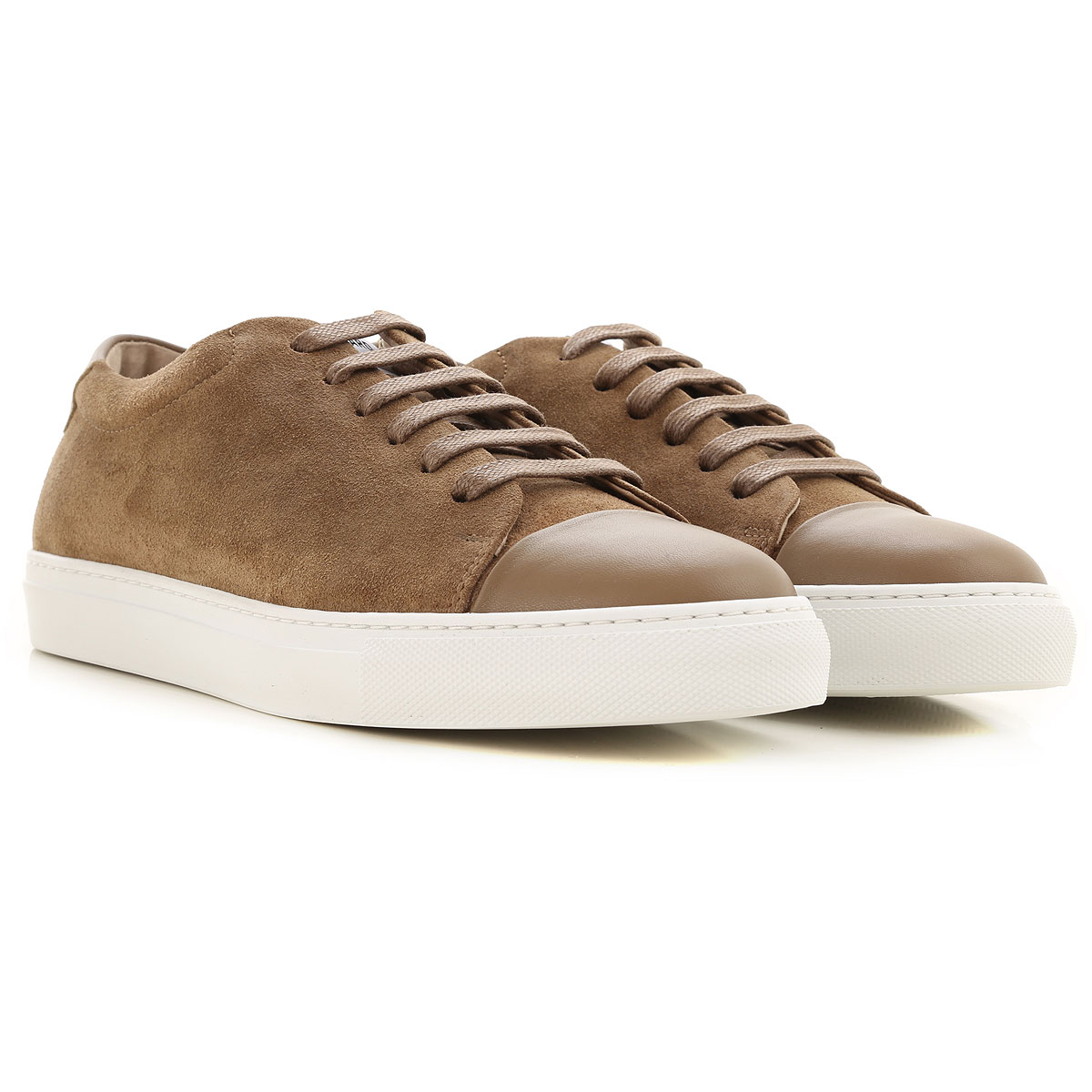 National Standard Sneakers for Men On Sale, Cognac, Suede leather, 2019, 7 8