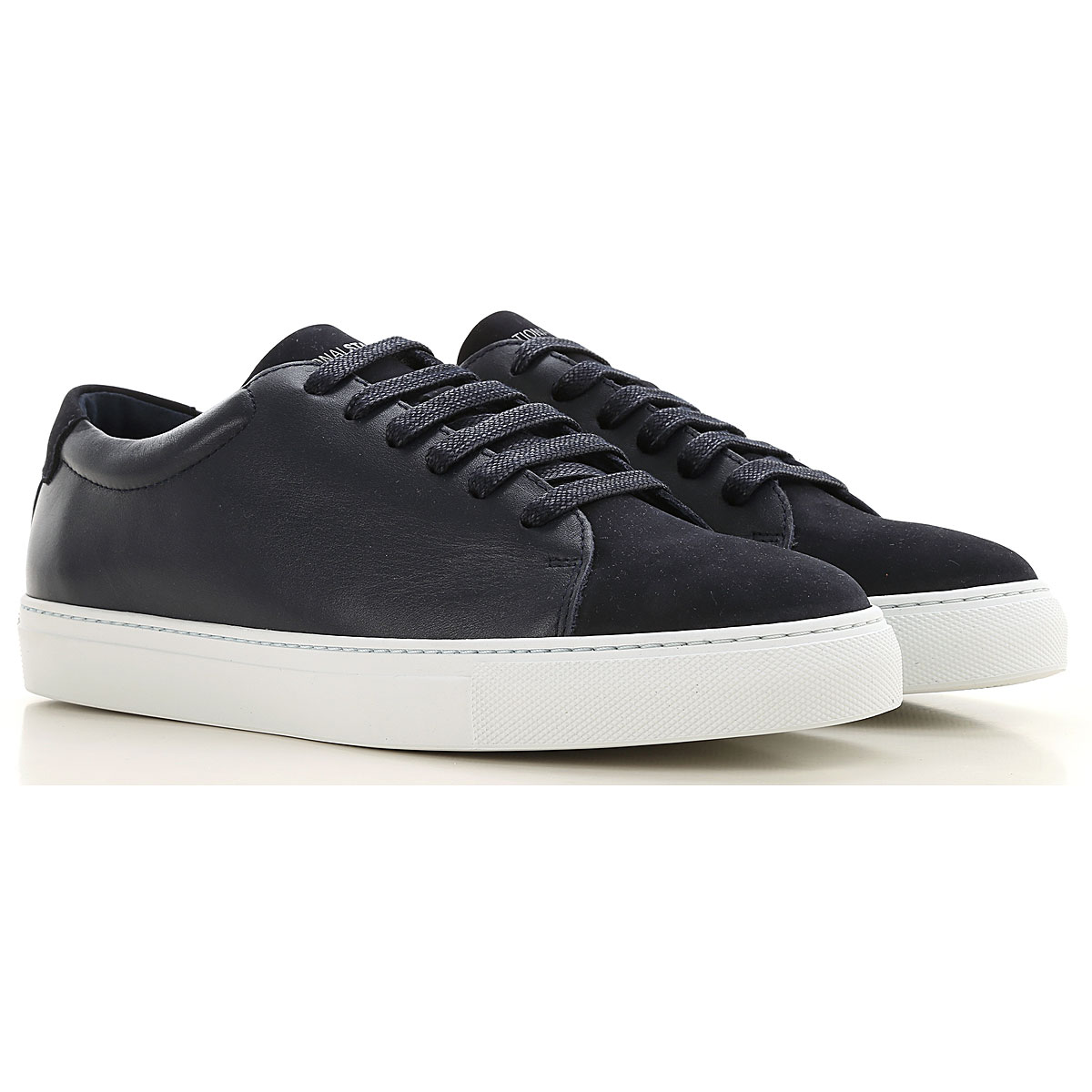 National Standard Sneakers for Men On Sale, Blu Navy, Leather, 2019, 7 8