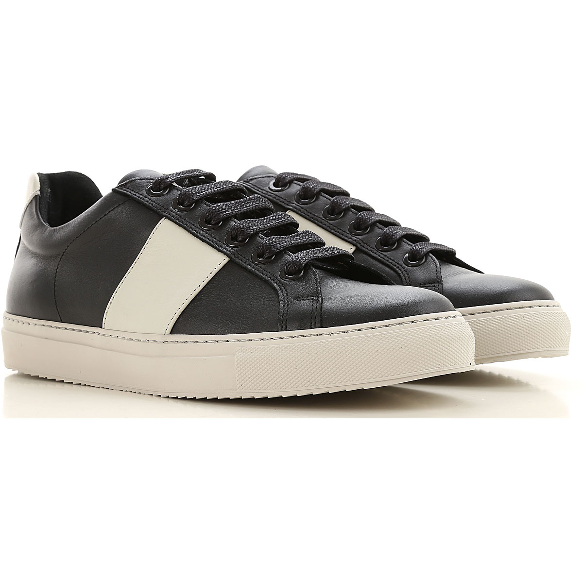 National Standard Sneakers for Men On Sale, Black, Leather, 2019, 7 8