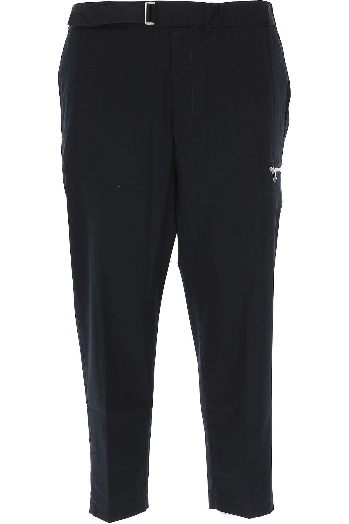 Image of OAMC Pants for Men, Black, Cotton, 2017, L M S XS