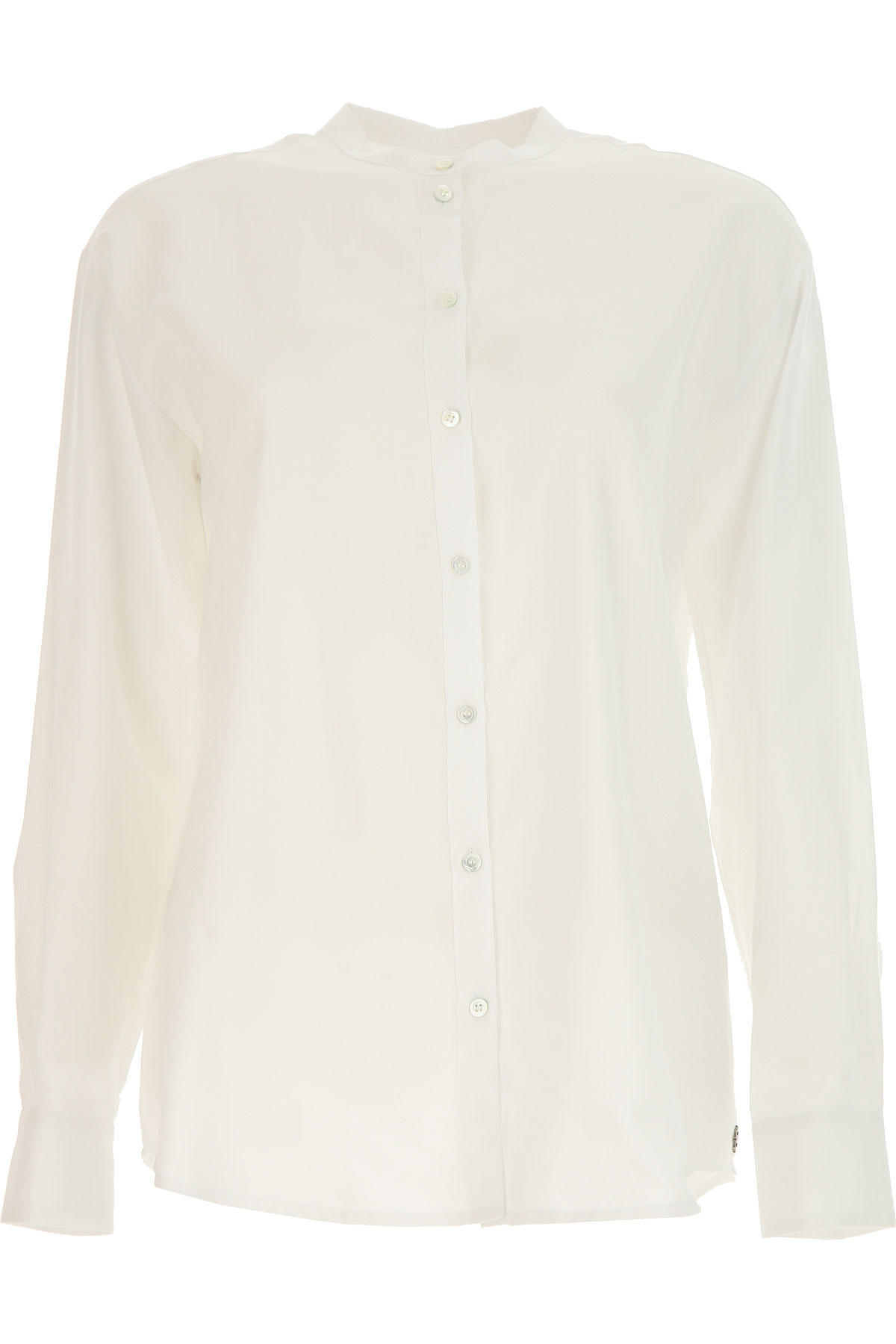 Image of Ottodame Shirt for Women On Sale, White, Cotton, 2017, US 4 - I 40 - GB 8 - F36 US 6 - I 42 - GB 10 - F 38 US 8 - I 44 - GB 12 - F 40 US 10 - I 46 - GB 14 - F 42