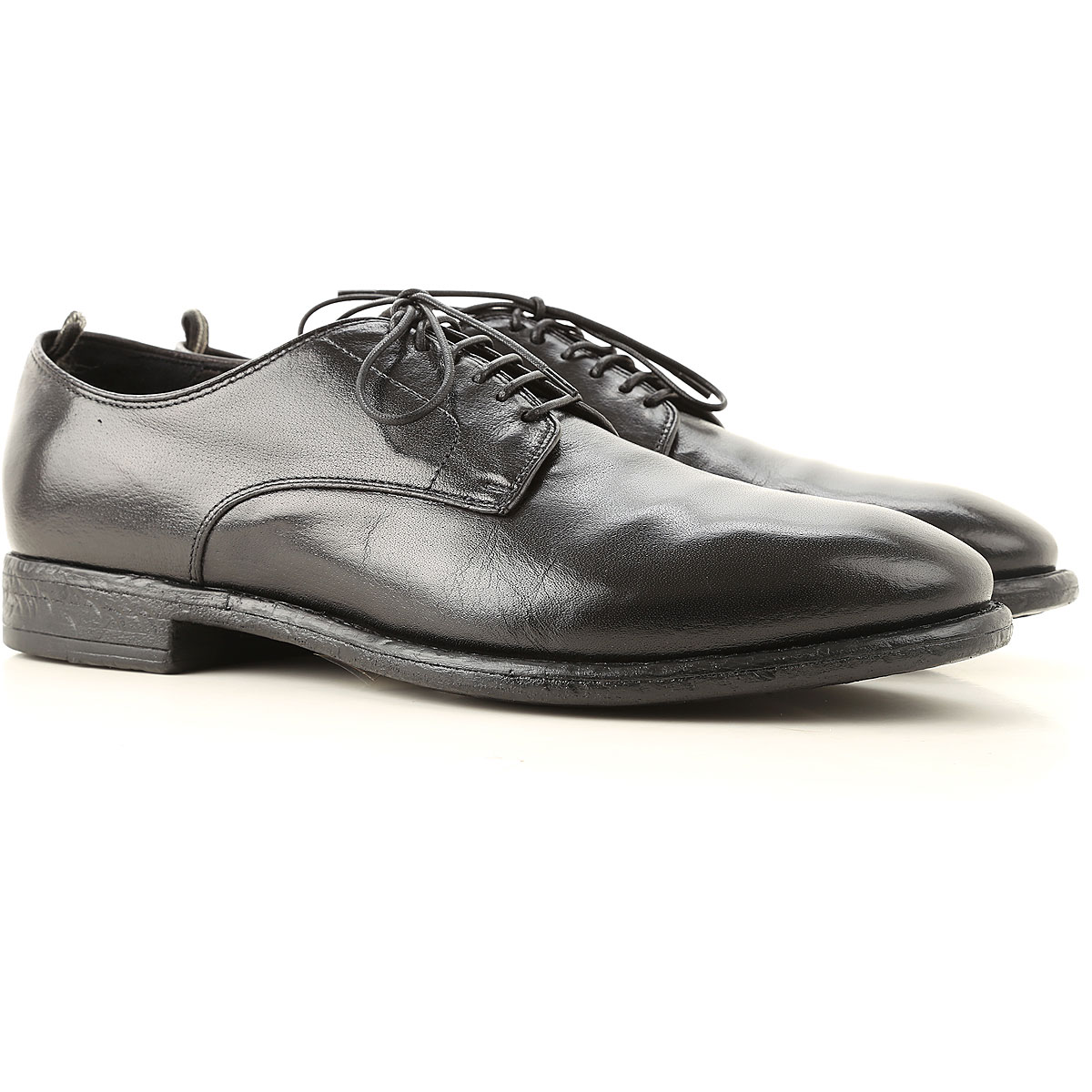 Officine Creative Lace Up Shoes for Men Oxfords, Derbies and Brogues On Sale, Black, Leather, 2019, 10 10.5 11 12 6.5 7 7.5 7.75 8 8.5 9 9.5