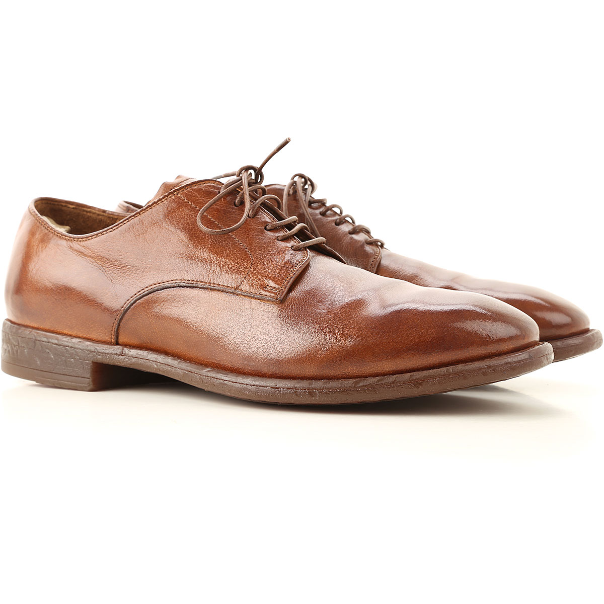 Officine Creative Lace Up Shoes for Men Oxfords, Derbies and Brogues On Sale, Tobacco, Leather, 2019, 10 10.25 10.5 12 6.5 7 7.5 7.75 8 8.5 9 9.5