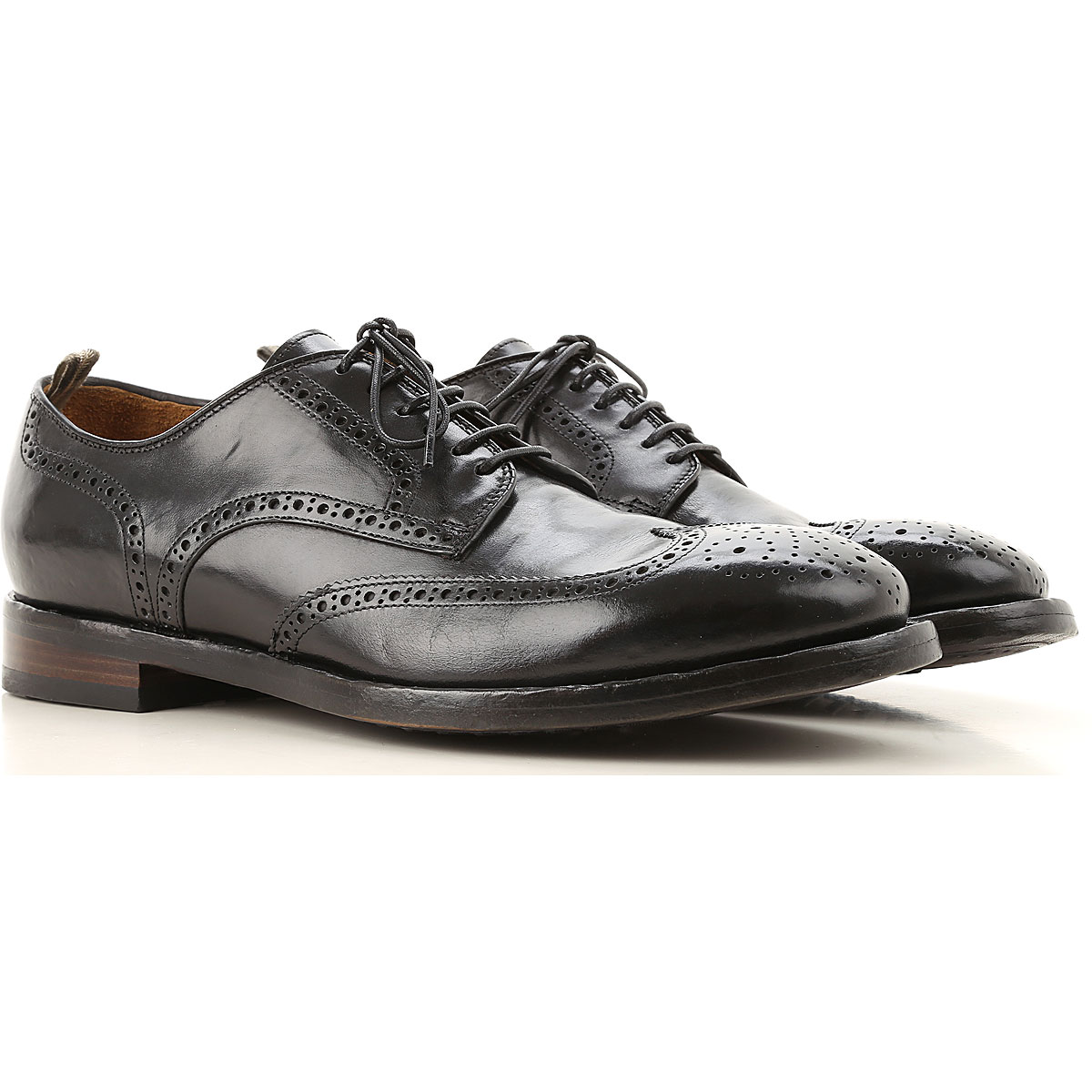 Officine Creative Lace Up Shoes for Men Oxfords, Derbies and Brogues, Black, Leather, 2019, 10.5 11 8 8.5 9