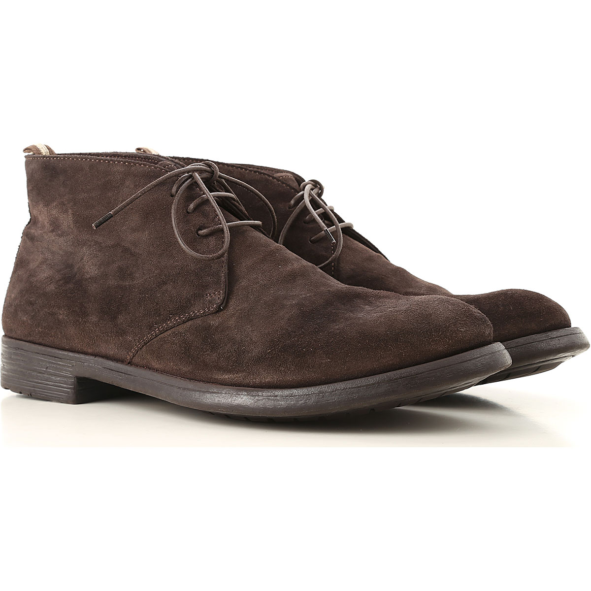 Image of Officine Creative Boots for Men, Booties, Brown, Suede leather, 2017, 10 10.5 7.5 8 9