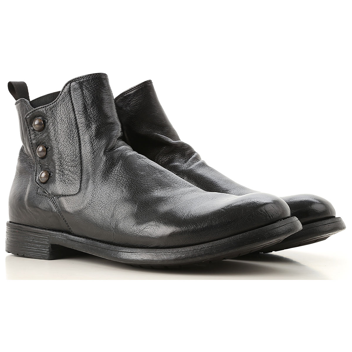 Image of Officine Creative Boots for Men, Booties, Brown, Leather, 2017, 10 10.5 7.5 8 9