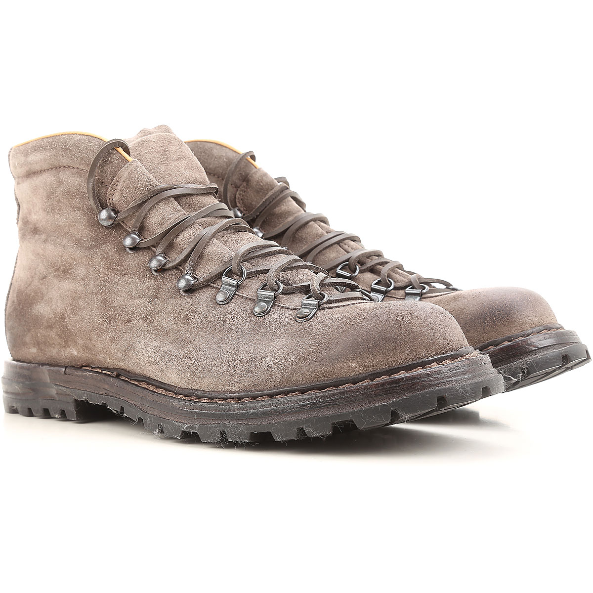 Image of Officine Creative Boots for Men, Booties, Grey, suede, 2017, 10 10.5 7.5 7.75 8 8.5 9 9.5