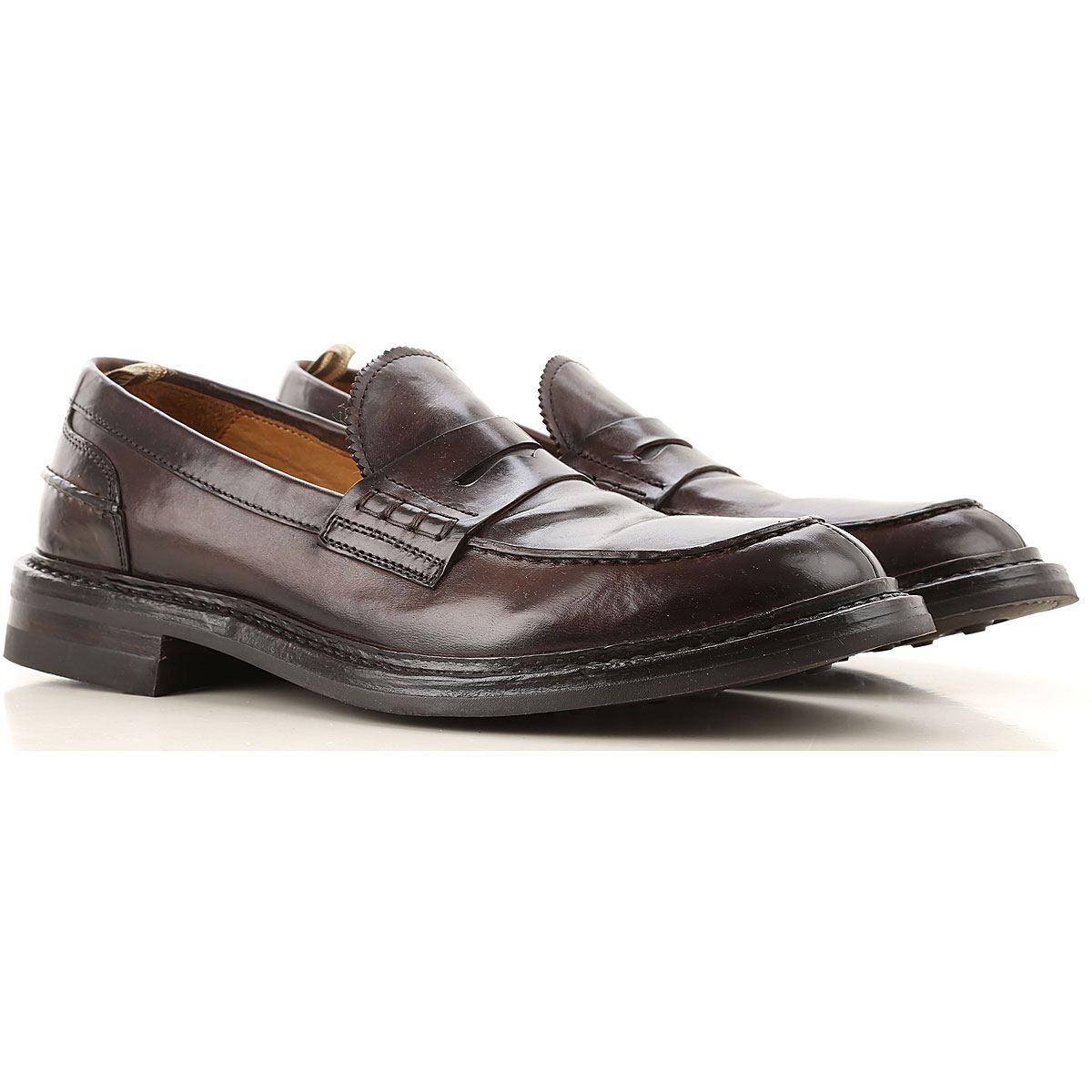 Officine Creative Loafers for Men, Ebony, Leather, 2019, 10.5 9.5