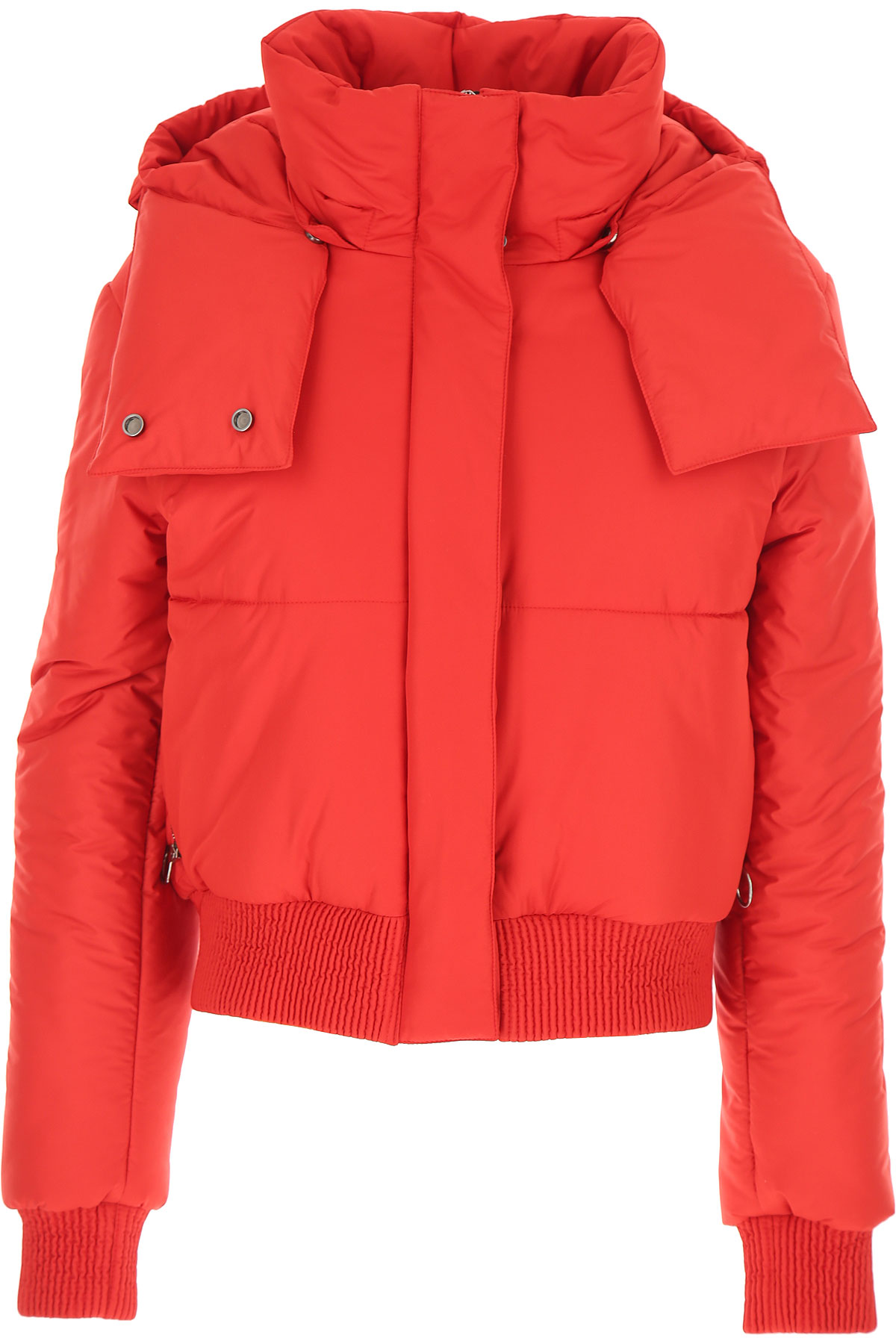 Off-White Virgil Abloh Down Jacket for Women, Puffer Ski Jacket On Sale, Red, polyestere, 2019, 2 4 6