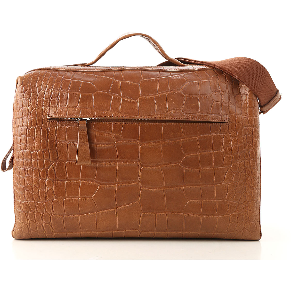 Orciani Briefcase for Men On Sale, Leather Brown, Leather, 2019