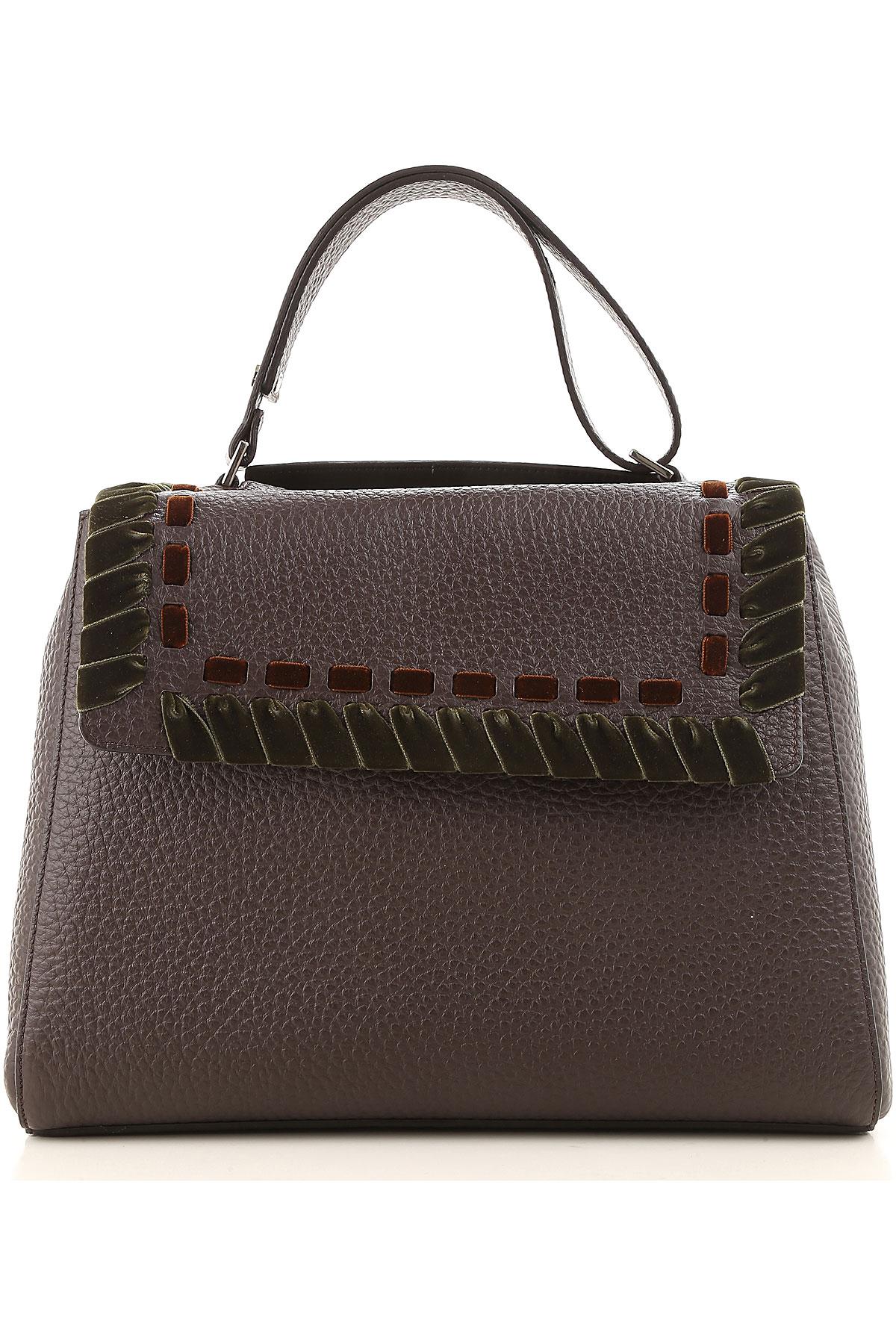Orciani Top Handle Handbag On Sale, Moro, Leather, 2019